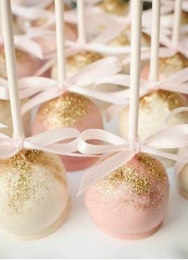 Cake Pops con Cintas (12 unidades)