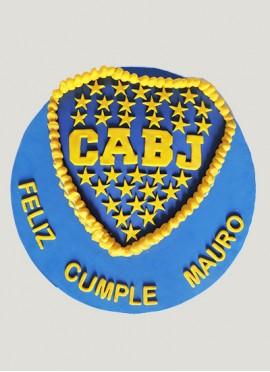Torta Escudo Boca Juniors