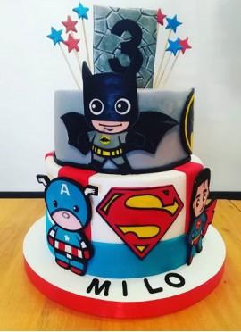 Torta Súper Héroes
