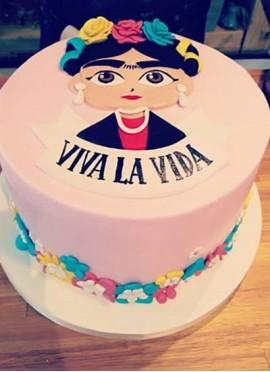 Torta Frida Kahlo