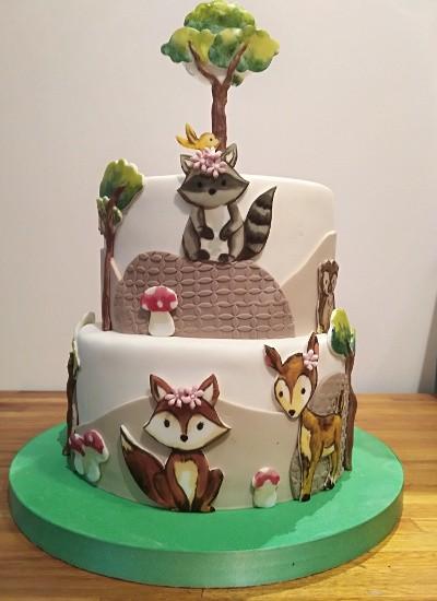 Torta Animalitos de la Selva